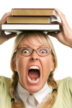 student-angry