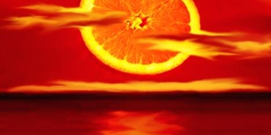 napkelte narancs