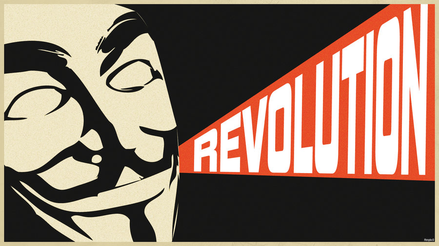 anonymous propaganda poster wallpaper by ampix0 d4qdvsg
