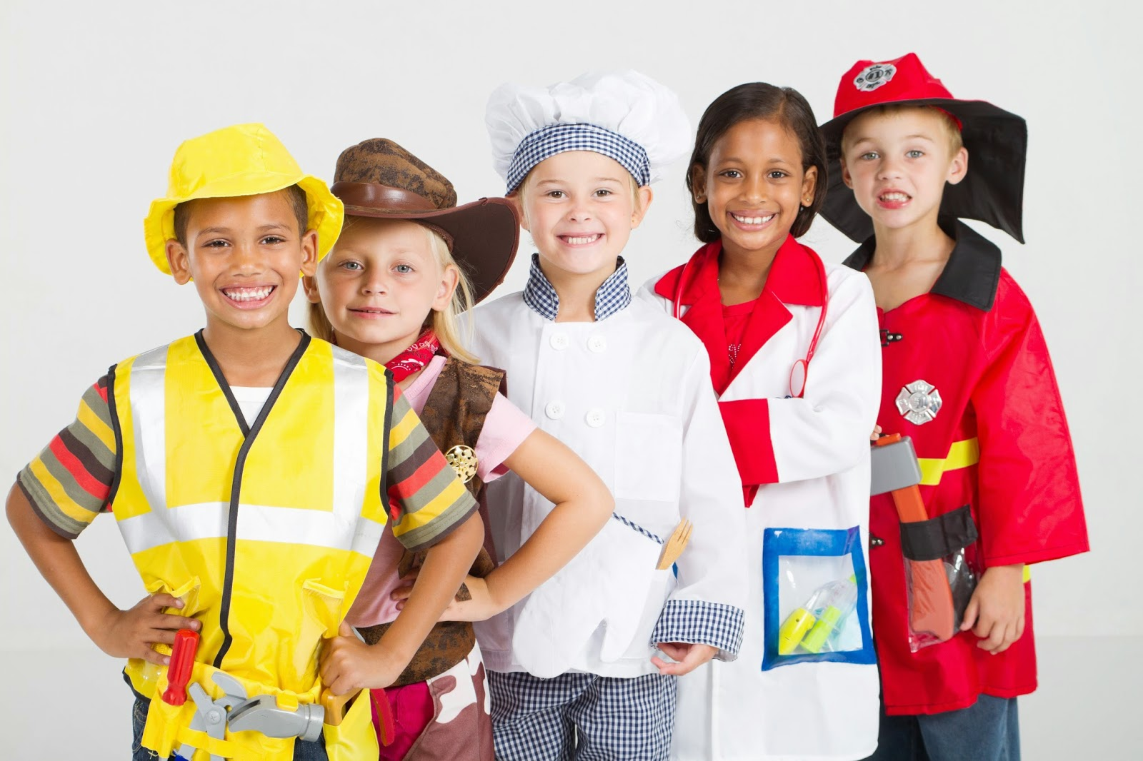kids in uniforms costumes