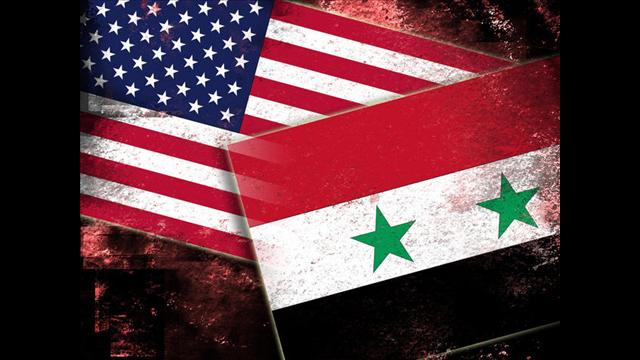 us syria flags