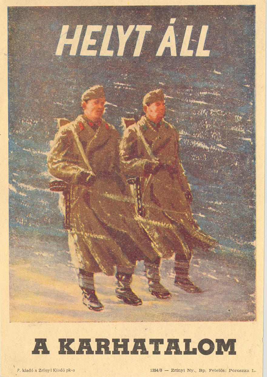 pufajkasokat nepszerusito plakat 1956 decemberebol
