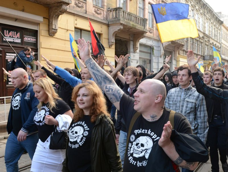 UKRAINE-HISTORY-GALICIA-NEO-NAZIS-MARCH